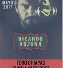 RICARDO ARJONA EN EL FORO CHIAPAS
