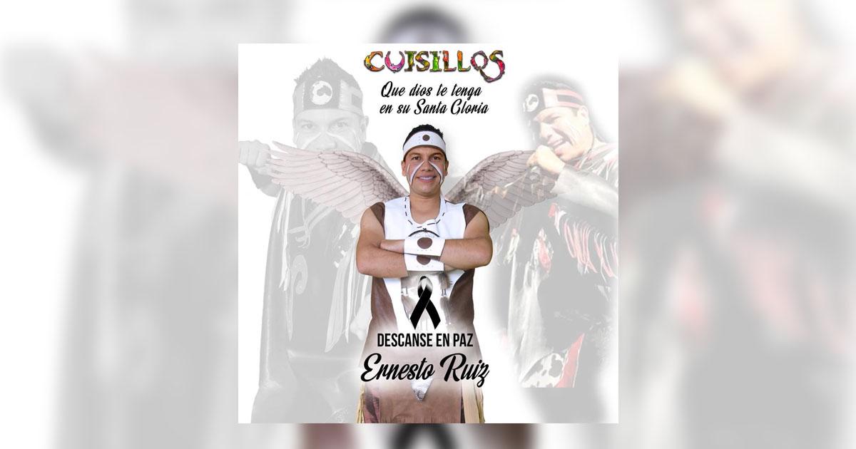 DAN EL ÚLTIMO ADIÓS A ERNESTO RUÍZ, VOCALISTA DE BANDA CUISILLOS