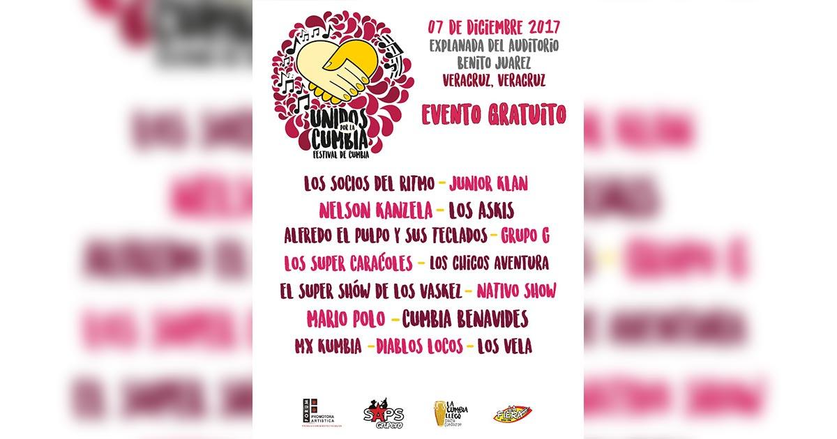 NO PUEDES PERDERTE EL FESTIVAL DE LA CUMBIA 2017, PRÓXIMAMENTE