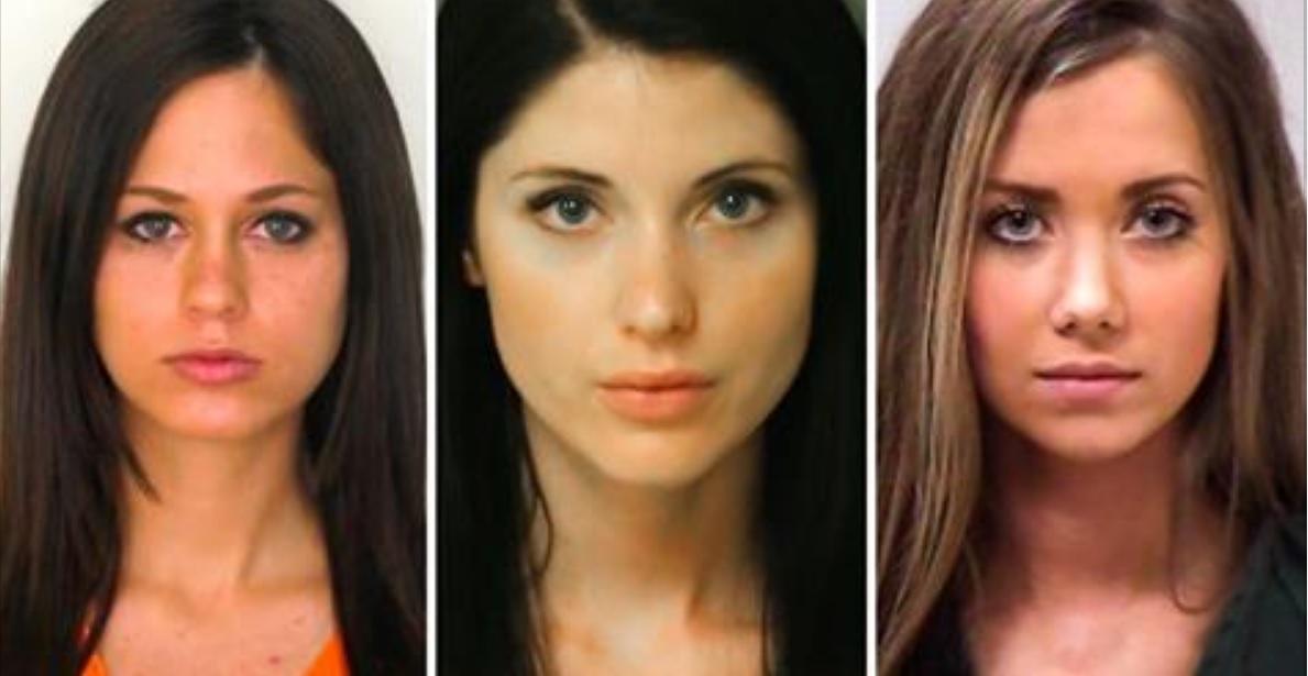 Esta cuenta de Instagram enlista a las criminales más sexis del mundo; ¿de cuánto será la fianza?