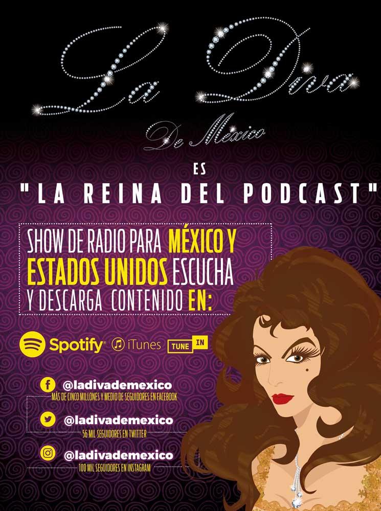 La Diva de México, La Reina Del Podcast