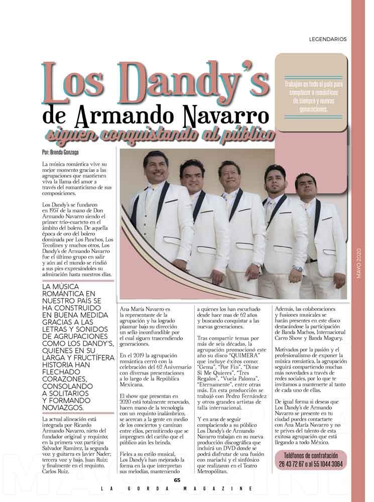 Los Dandys de Armando Navarro