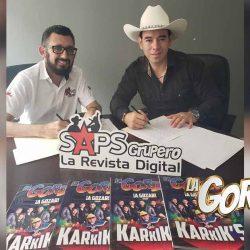 Pepe Brandi firma contrato exclusivo con SAPS Records