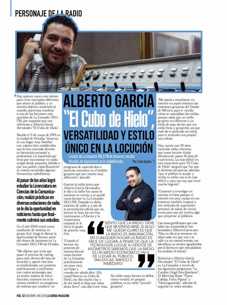 Alberto García, El Cubo De Hielo