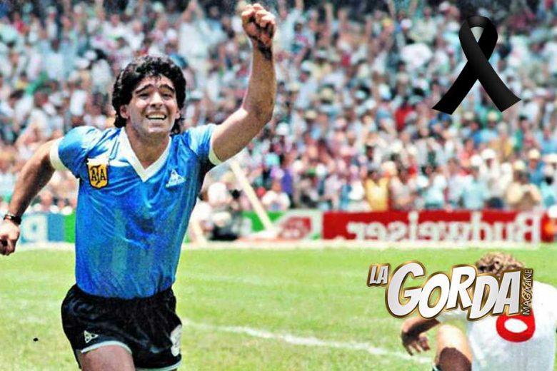 Fallece Diego Armando Maradona, ídolo mundial del futbol