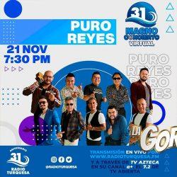 """Puro Reyes en el """"Magno Concierto Virtual"""" de Radio Turquesa"""