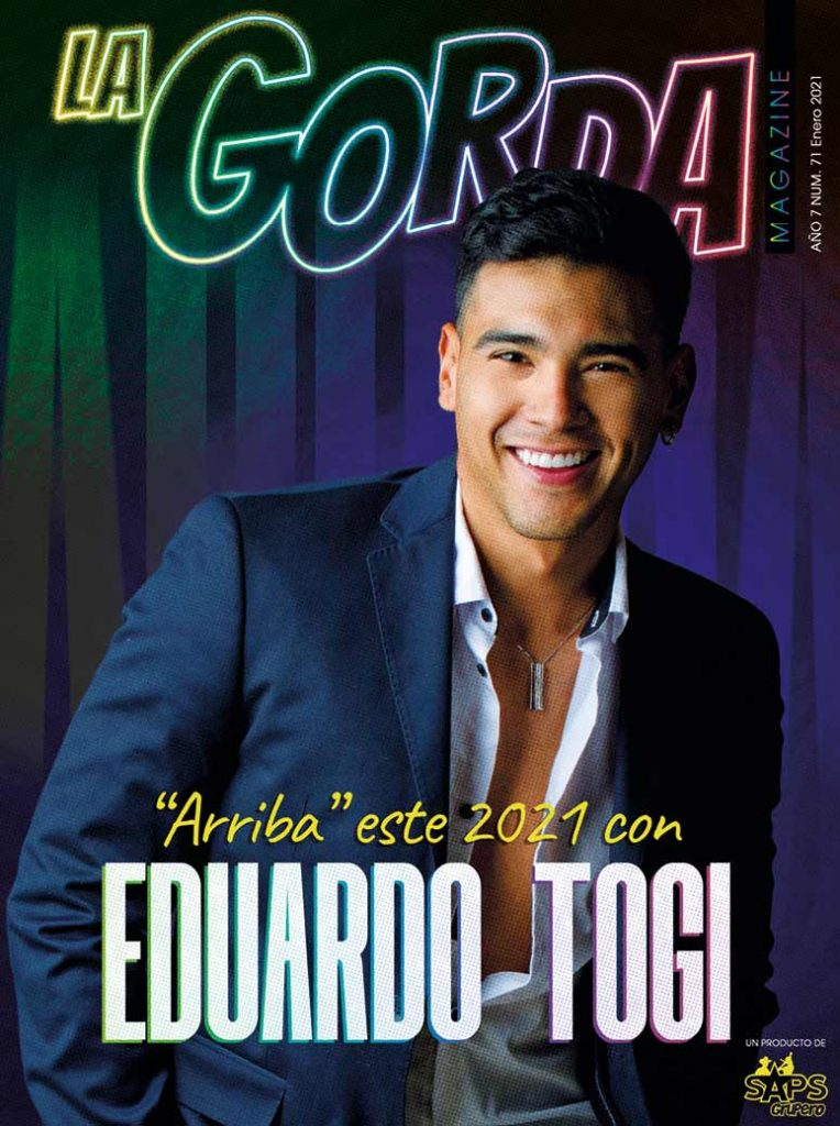 Eduardo Togi, La Gorda Magazine Enero 2021