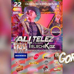 Ali Telez Y Su Grupo Telechikoz celebrarán dos años de fusión con un concierto virtual