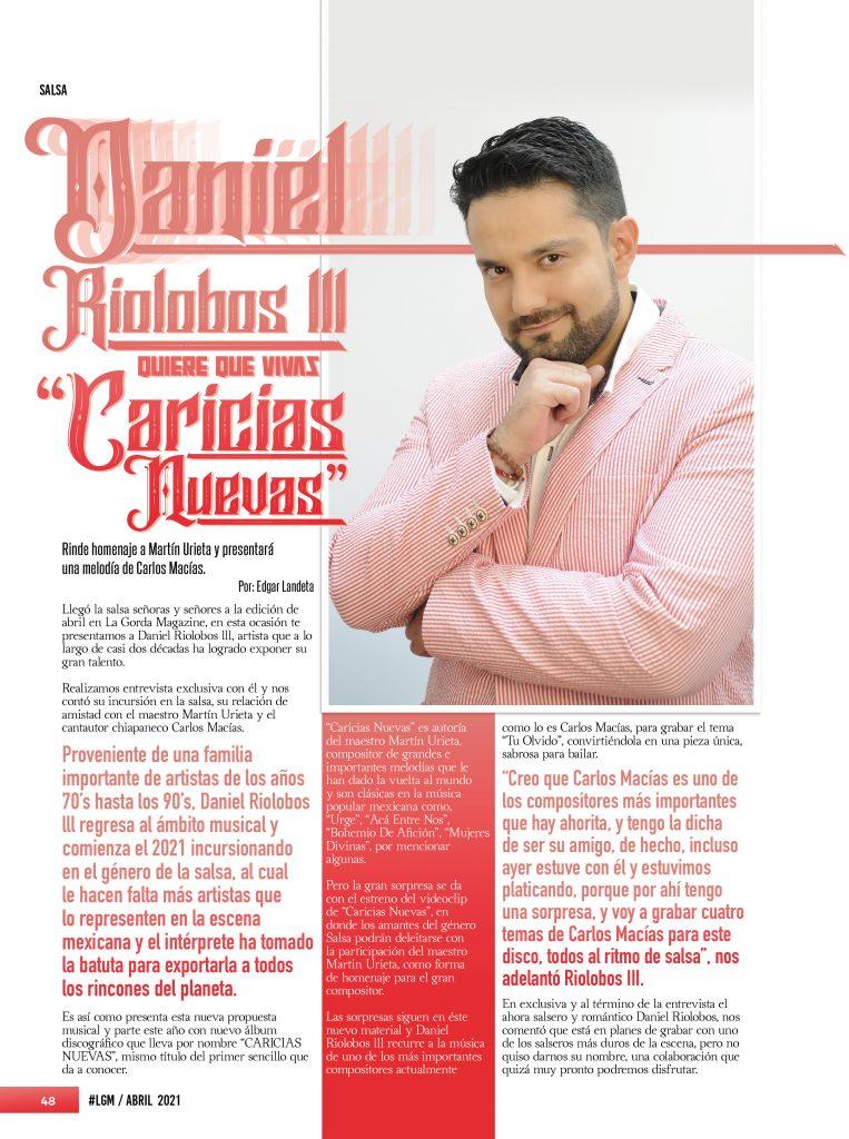 Daniel Riolobos lll.