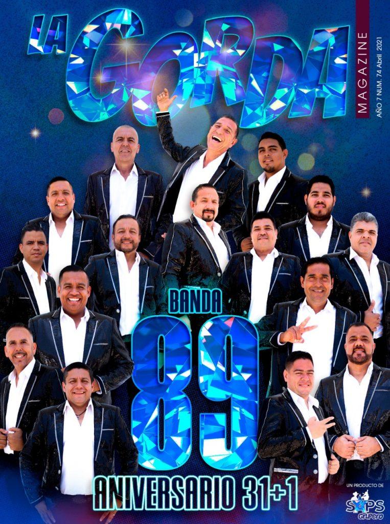 Portada La Gorda Magazine Abril 2021: Banda 89