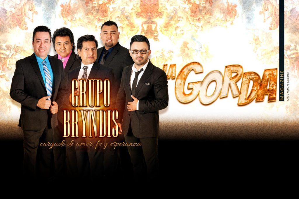 Grupo Bryndis, Portada La Gorda Magazine junio 2021