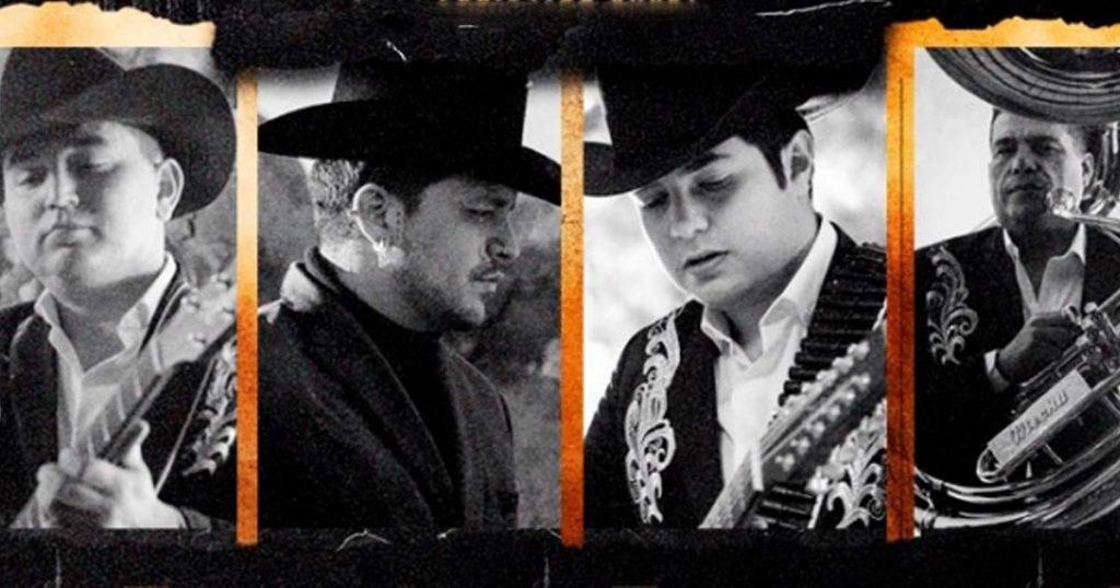 Los Plebes del Rancho de Ariel Camacho, 2 veces, Christian Nodal