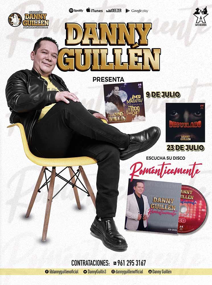 Danny Guillén, Booking La Gorda Magazine Julio 2021
