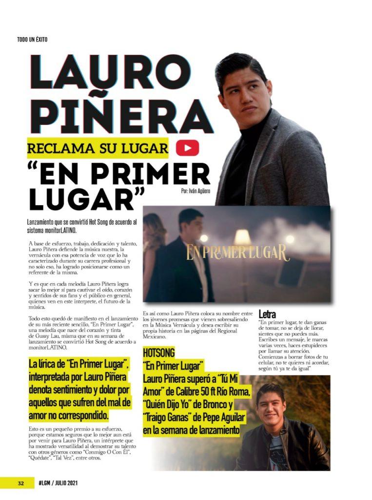 """""""En Primer Lugar"""""""