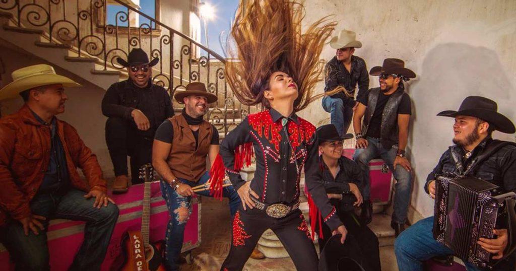 Laura Denisse y Los Brillantes, disco country, La Gorda FM