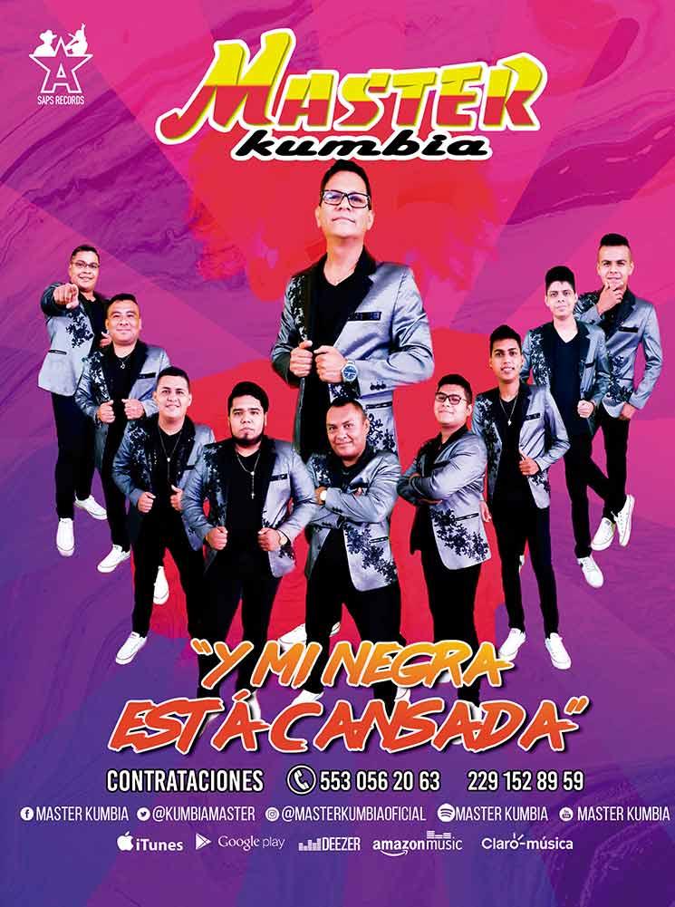 Master Kumbia, Booking La Gorda Magazine julio 2021