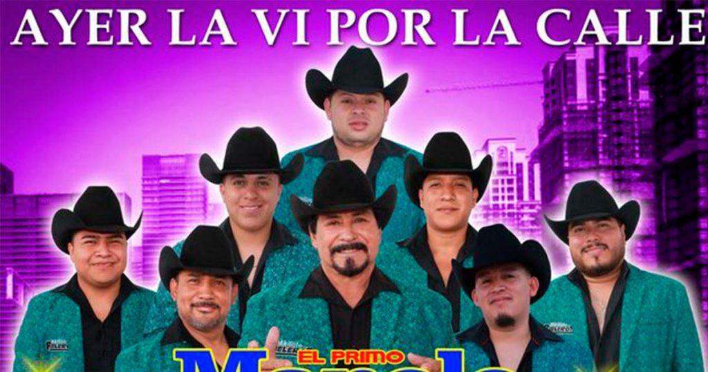 """El Primo Manolo y Sus Rieleros traen de vuelta """"Ayer La Vi Por La Calle"""""""