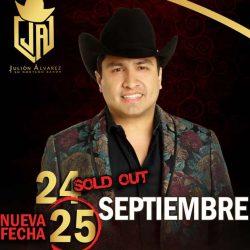 Julión Álvarez abre nueva fecha en el Auditorio Telmex