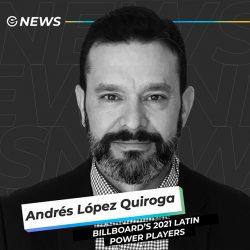 Andrés López de ONErpm es reconocido por Billboard como Latin Power Players