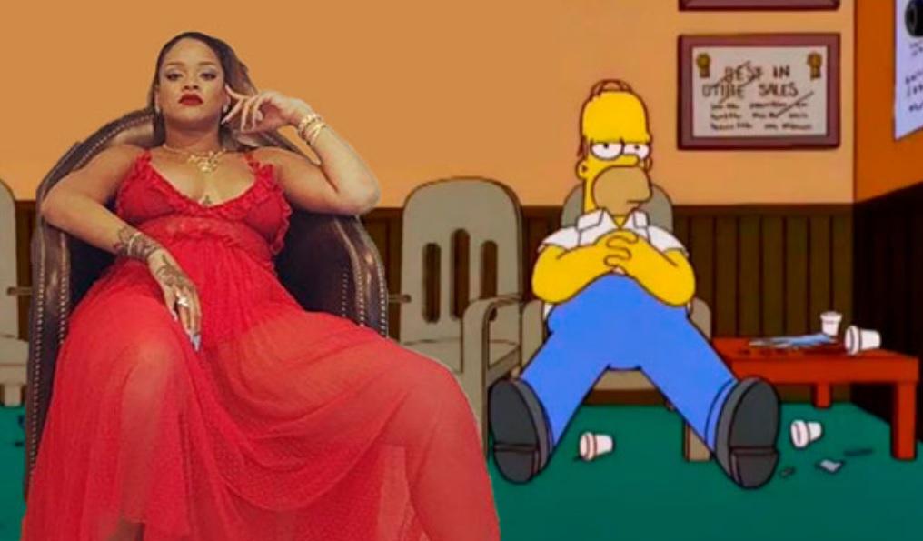 Rihanna se tomó una foto toda fodonga y el internet ya le hizo una guerra de photoshop