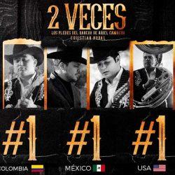 """Los Plebes Del Rancho y Christian Nodal destacan con  """"2 Veces"""""""